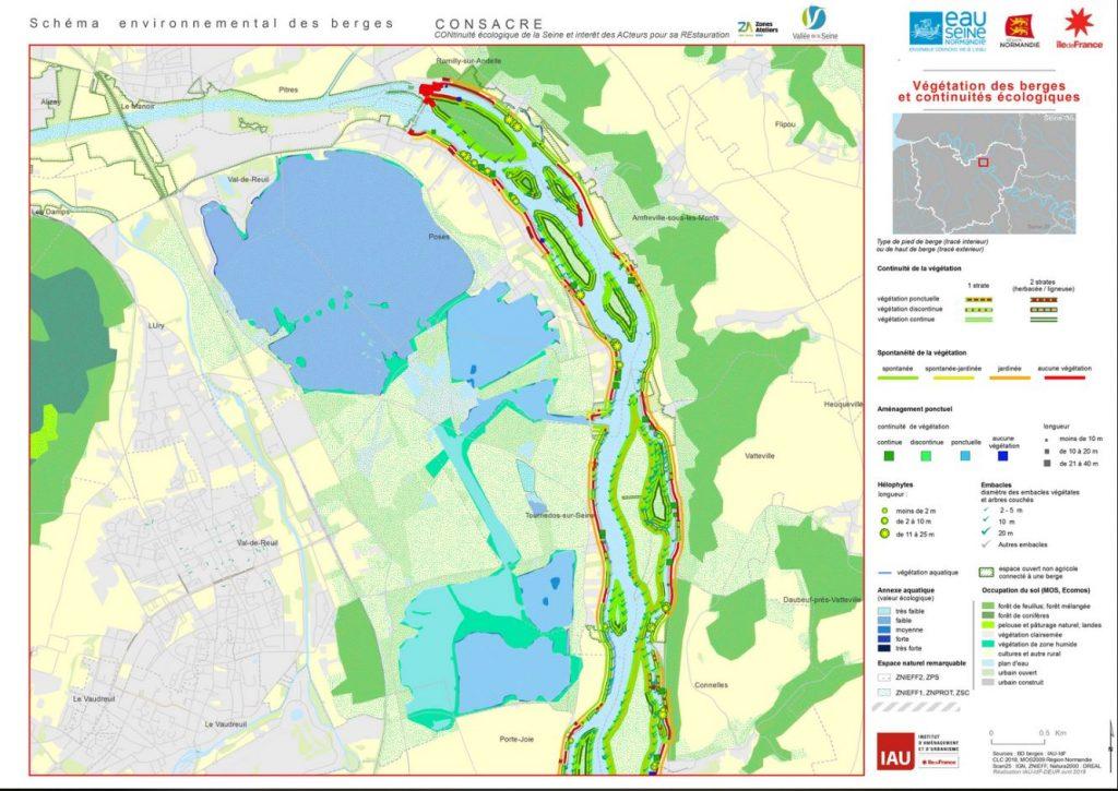 Le schéma interactif des berges de la Seine dans l'Eure est désormais disponible.